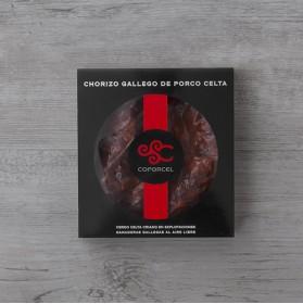 Chorizo Gallego de cerdo celta caja 300gr