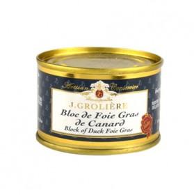 Bloc de foie gras de pato lata